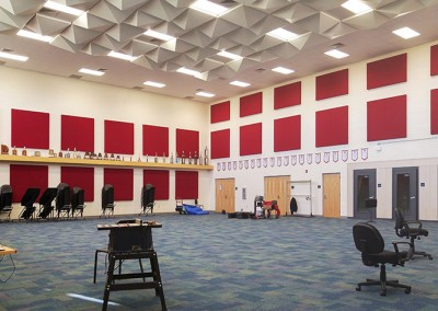 Southwest High School FWISD Band Hall Addition