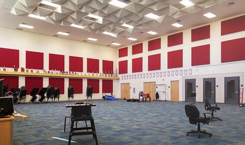 Southwest High School FWISD Band Hall Addition